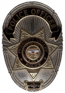 Prescott Valley Police Department Badge